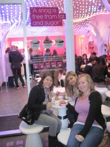 Frozen yogurt at Snog