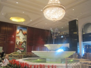 Lobby of the Kowloon Shangri-La